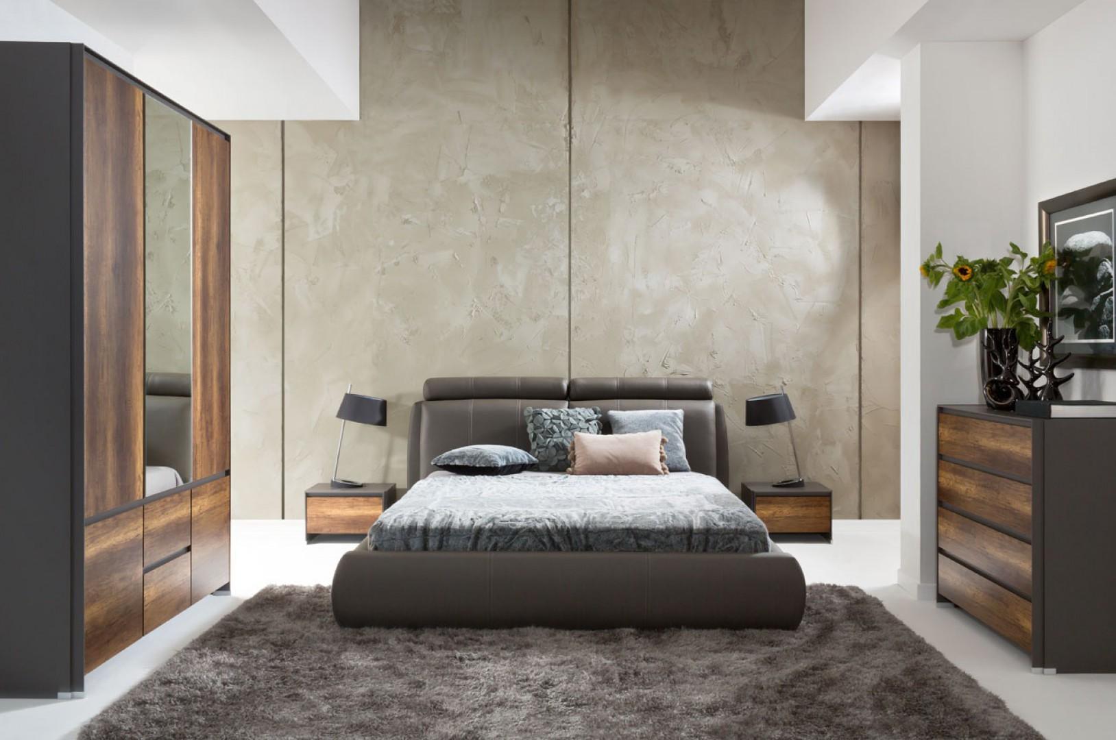 Katalog Mebli Fini Przytulne łóżko Do Sypialni Meble