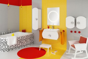"""""""Intorno"""" - meble łazienkowe dla dzieci"""