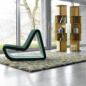 Fotel o ciekawej formie. Fot. Bonaldo