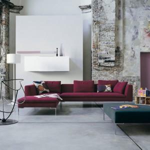 Sofa Charles to doskonałe rozwiązanie do aranżacji nowoczesnej przestrzeni. Fot. B&B Italia