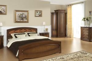 """""""Afrodyta"""" - sypialnia w kolorze czereśni"""