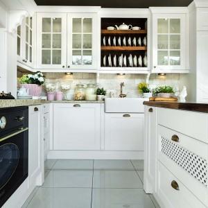 Styl rustykalny w kuchni. Fot. Vigo/Max Kuchnie