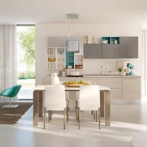 Kuchnia połączona z salonem. Fot. Lube