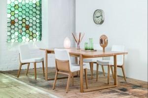 """Krzesło """"Moritz"""" - ręcznie polerowana piękność"""