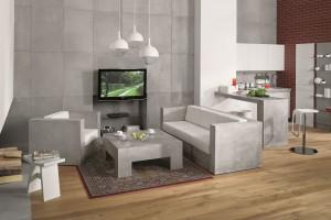 Meble z betonu. Nowy, industrialny trend