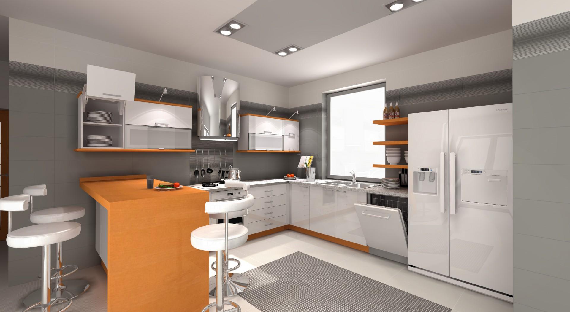 Wizualizacja kuchni gotowa do przedstawienia klientowi. Fot. archiwum