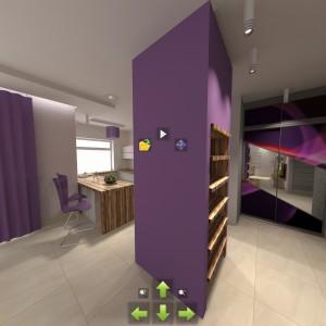 Zaawansowane technologicznie programy dają możliwość wirtualnego poruszania się w projektowanym wnętrzu. Fot. archiwum