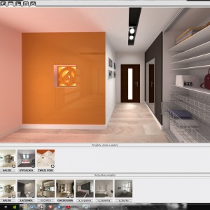 Profesjonalne programy to nie tylko planowanie kuchni, ale także szaf wnękowych itp. Fot. CAD Projekt K&A