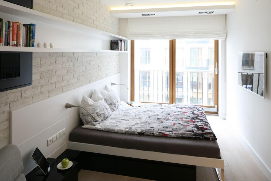 Urządzamy - Mała sypialnia. Zobacz jak wygląda w polskich mieszkaniach - meble.com.pl