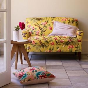 Florystyczne motywy dodają wnętrzu kobiecego wdzięku. Fot. Marks&Spencer