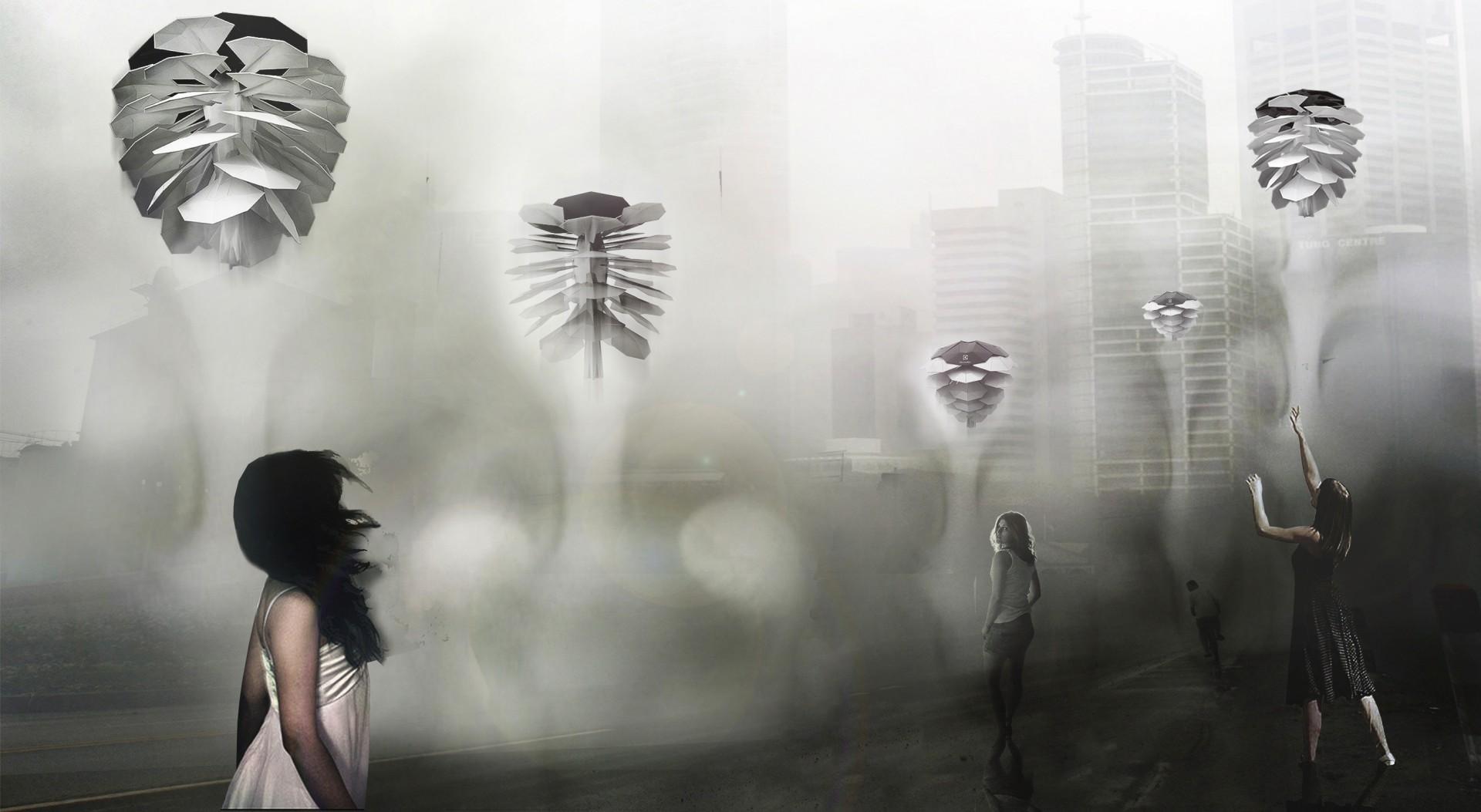 """""""Urban Cone"""" projekt Michała Pośpiecha to odświeżacz powietrza najnowszej generacji. Fot. Elektrolux"""