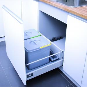 Jeden z wariantów systemu segregatorów odpadów