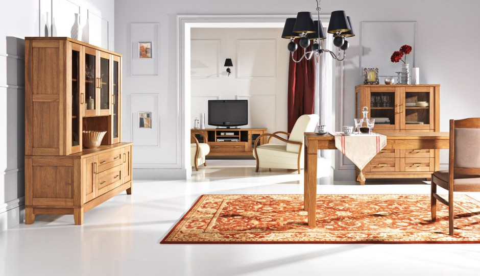Деревянная Мебель Гостиная