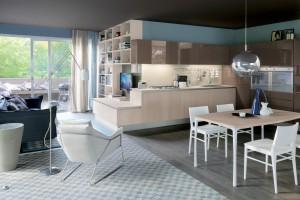 Kuchnia otwarta na salon. 10 ciekawych aranżacji