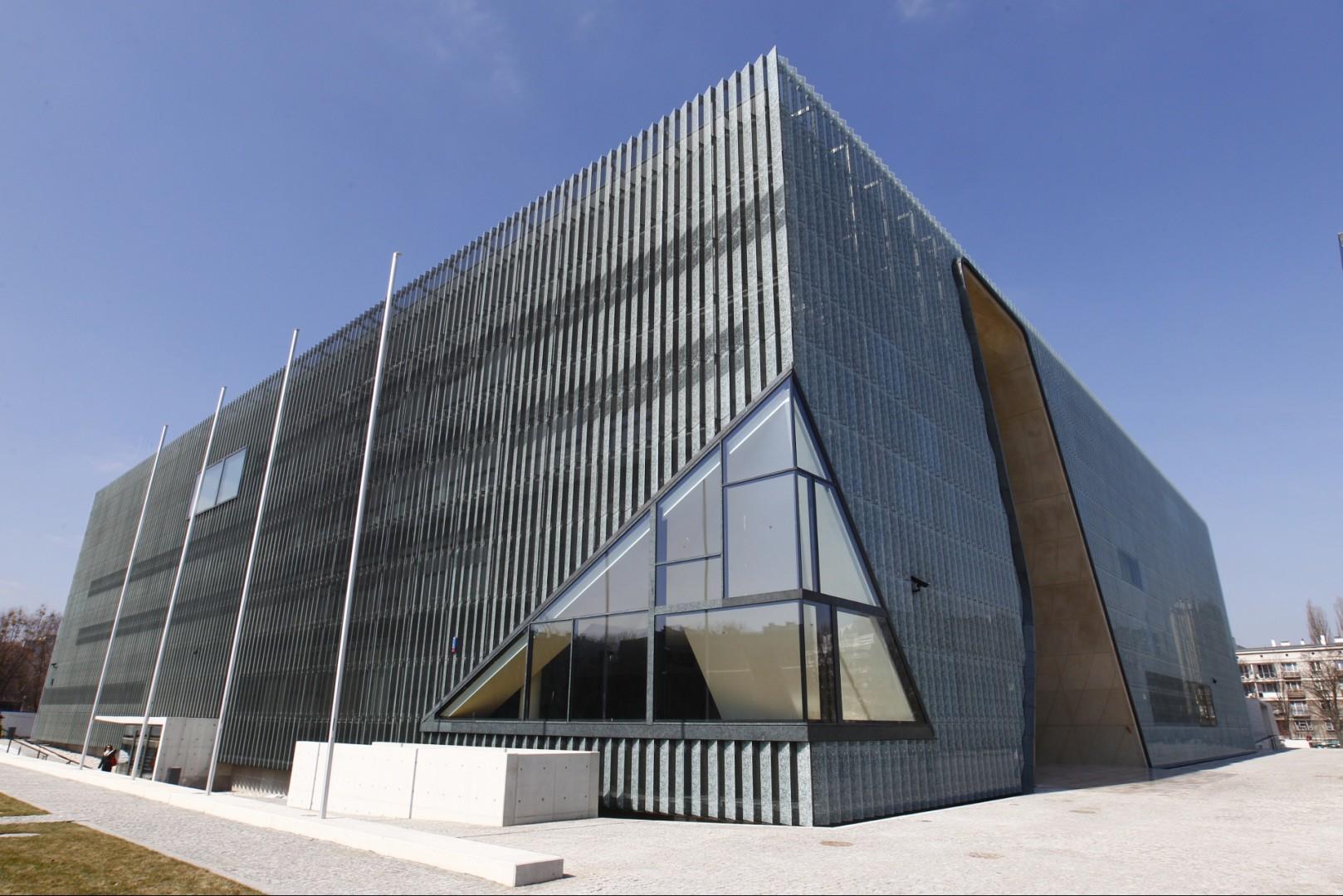 Muzeum Historii Żydów Polskich Polin w Warszawie - tu odbędzie się Forum Dobrego Designu. Fot. Archiwum