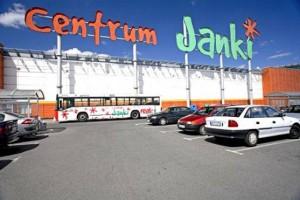 Panel-Pol- nowy salon w centrum handlowym Janki