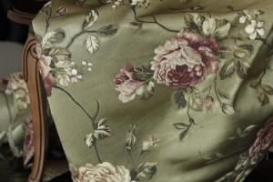 Kwiaty na tkaninach obiciowych