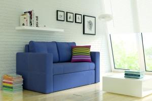 Sofa w salonie. Propozycje do małych wnętrz