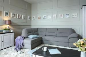 Sofa w salonie. Narożniki w cenie od 2 do 4 tys.