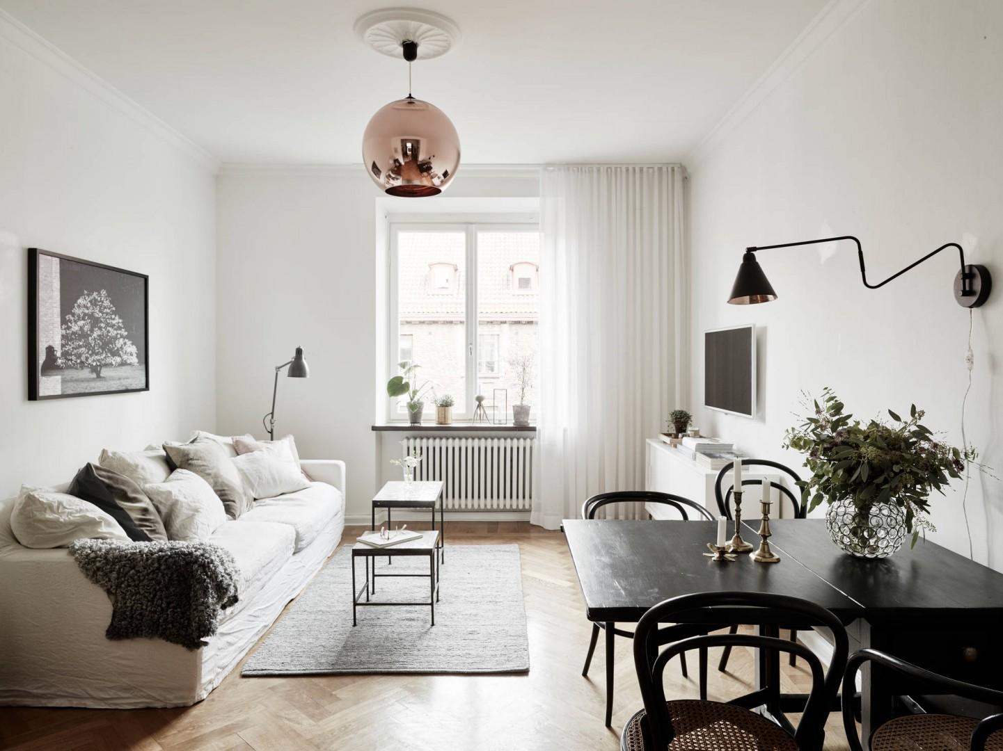 Urządzamy Mały Jasny Salon Projekty Polecane Przez Architektów