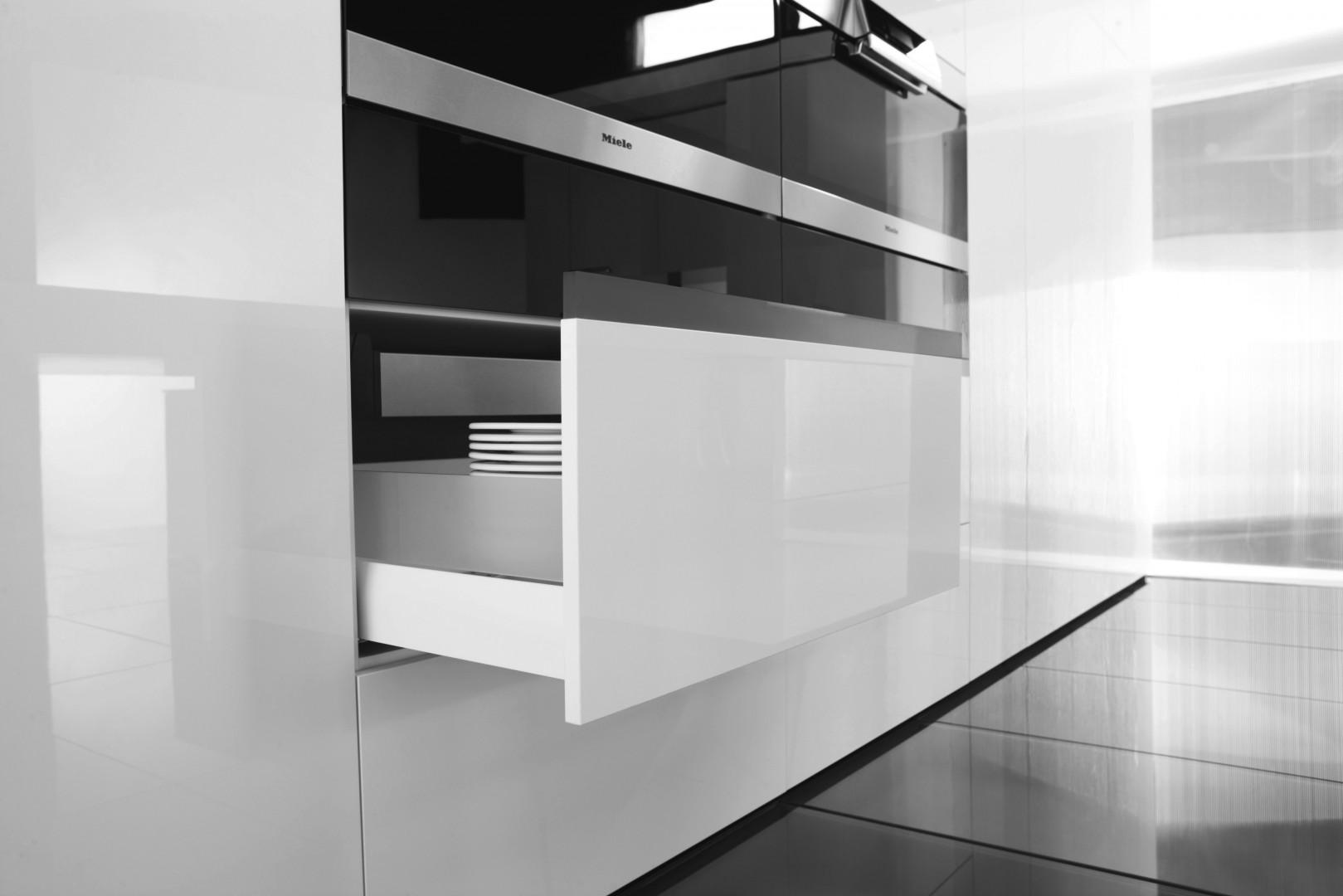 System szuflad Nova Pro firmy Hafele. Fot. Hafele