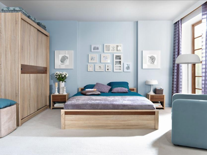 Urządzamy  Małe mieszkanie Pomysłowe schowki w sypialni  meble com pl -> Urządzamy Mieszkanie Kuchnia