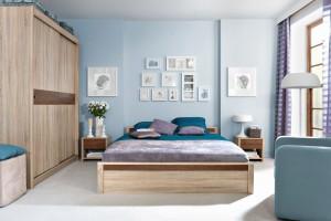 Małe mieszkanie. Pomysłowe schowki w sypialni