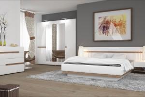"""""""Linate"""" - sypialnia w bieli"""