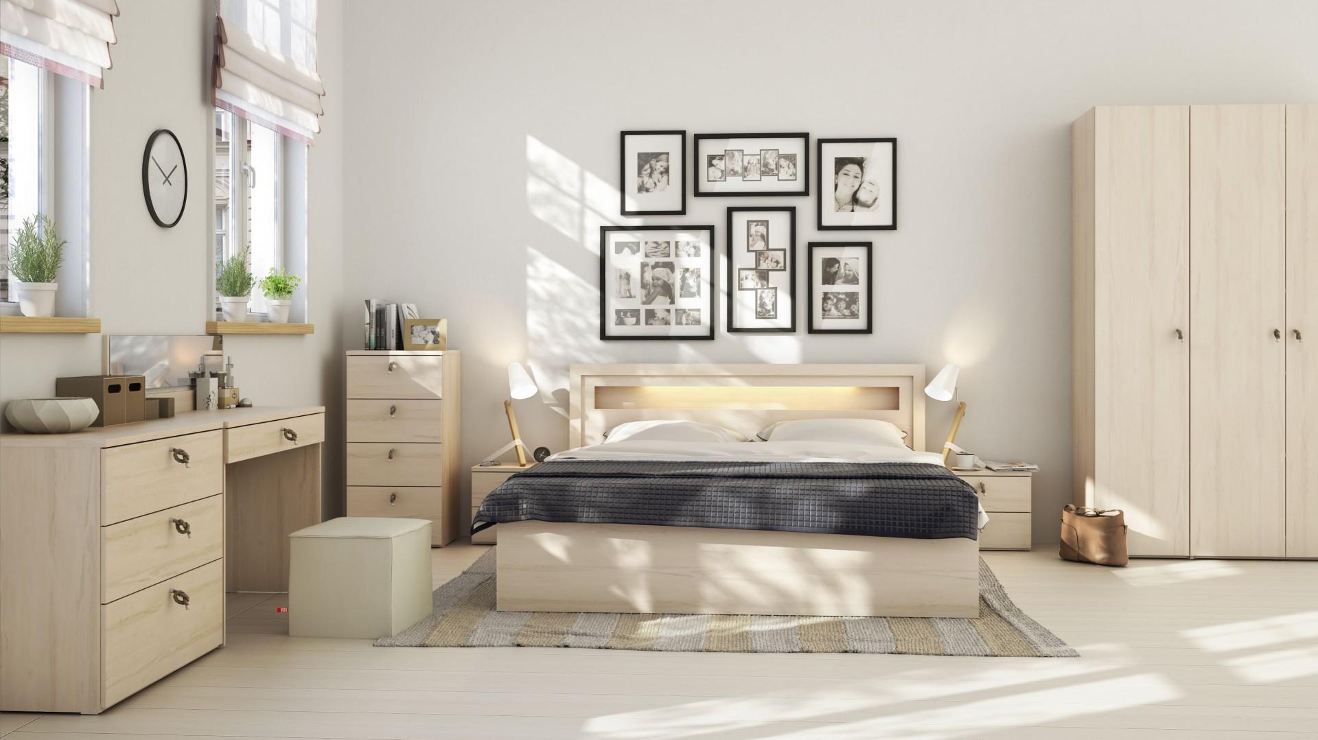Wybieramy Meble Meble Do Sypialni 10 Kolekcji Z Jasnego Drewna