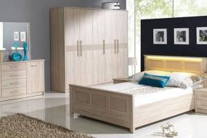 Meble w sypialni. Sprawdź nowoczesne łóżka drewniane