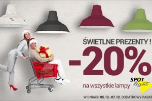Promocja na lampy Spot Light