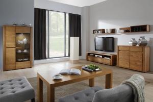 Modne mieszkanie. Wybierz piękne meble z rysunkiem drewna