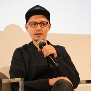 Nikodem Szpunar opisał się jako przedstawiciel młodego pokolenia projektantów i bronił stwierdzenia, że dla młodych i zdolnych ludzi Polski rynek wciąż jest trudnym obszarem do zdobycia pracy. Fot. Bartosz Jarosz