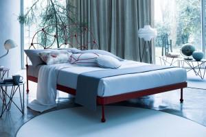 Meble do sypialni. Najpiękniejsze łóżka ze stali