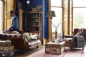 Chesterfield. Wyjątkowe sofy z pikowanym siedziskiem