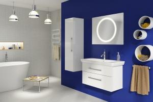 """""""Solei"""" - łazienka w bieli"""