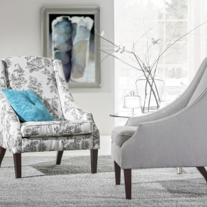 Fotel Angel jest dostępny w wielu opcjach tkanin obiciowych. Fot. Mebelplast