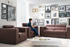 Sofa w salonie. Najciekawsze zestawy wypoczynkowe