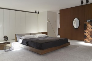 Zestaw do sypialni z litego drewna