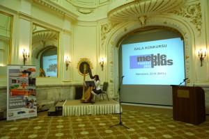 "Gala konkursu ""Meble Plus - Produkt 2013"""