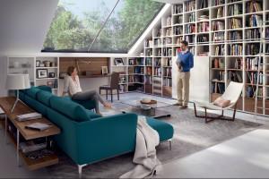 Mieszkanie na poddaszu - jakie meble ustawić pod skosami?
