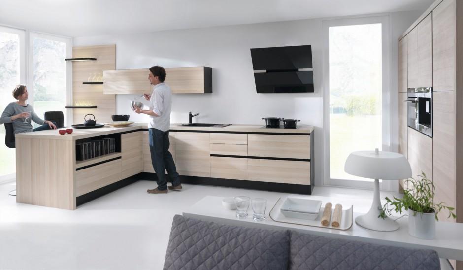 Urządzamy  Kuchnia z rysunkiem drewna To jest teraz   -> Kuchnia Jasne Drewno