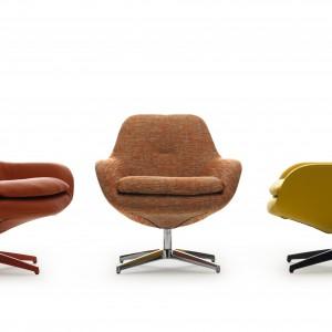 Modele prezentujące królewską stylistykę przeznaczone są głównie do dużych salonów. W mniejszych wnętrzach bardziej sprawdzą się modele o zgrabnej formie.  Fotel