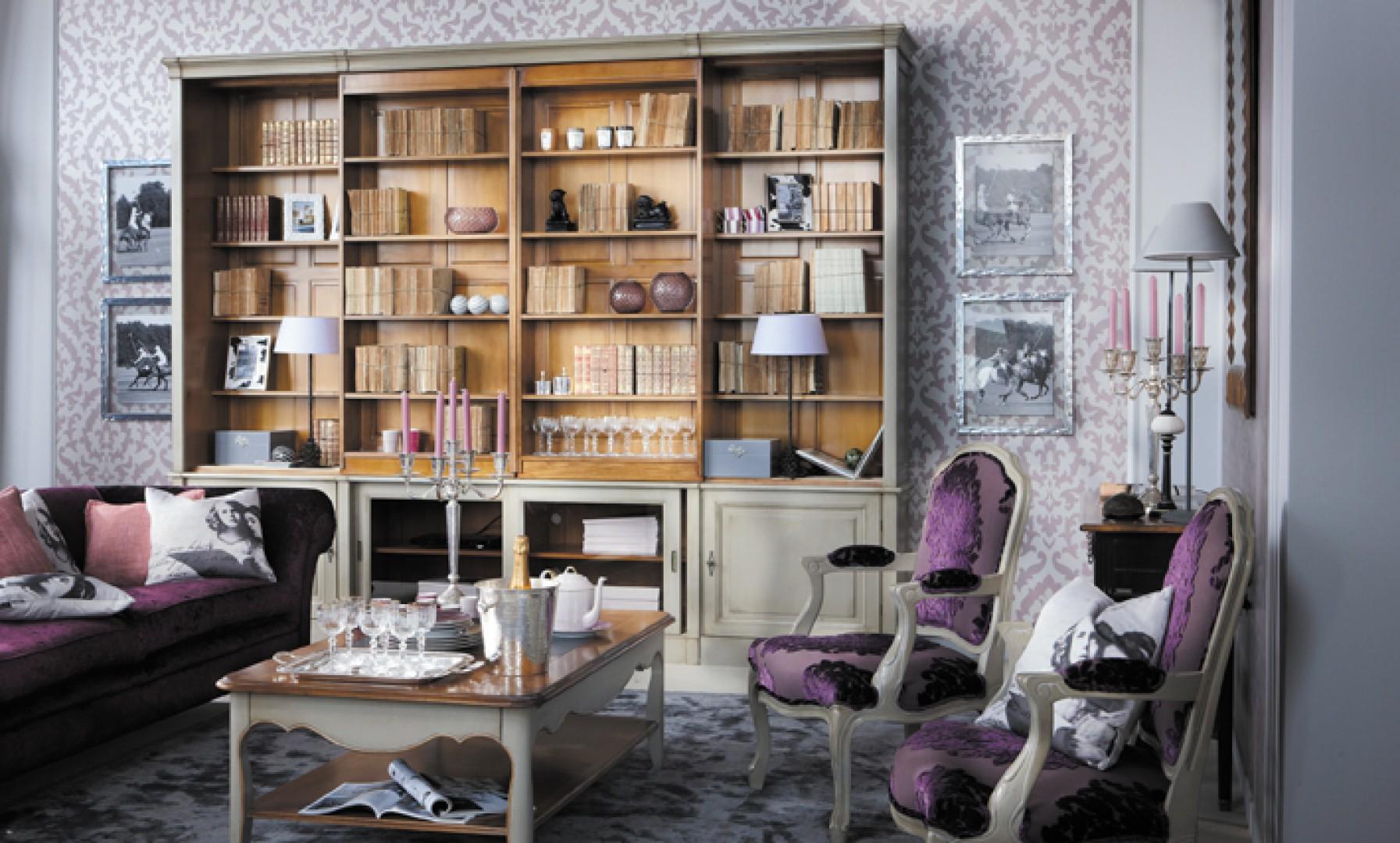 """Podobnie jak inne wzory z szerokiego katalogu Grange, również modele """"Directoire"""" wytwarzane są na indywidualne zamówienie przez zespół rzemieślników z Francji. Fot. Grange"""