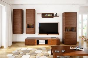 Aranżacja salonu. Piękne propozycje w drewnie