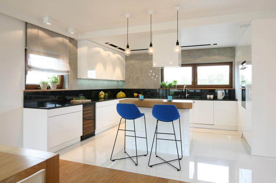 Urządzamy  Nowoczesna kuchnia 10 pomysłów na aranżację z wyspą  meble com pl -> Urządzamy Mieszkanie Kuchnia