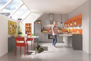 5 pomysłów na kuchnię z półkami nad blatem
