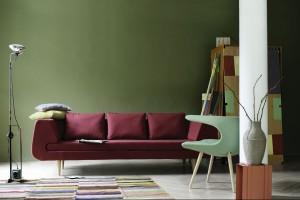 Sofa w salonie. Nowości z Stockholm Furniture&Light Fair