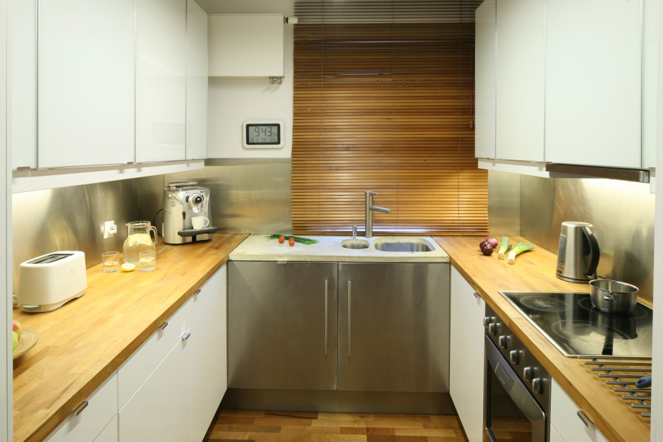 Wybieramy meble  Kuchnia w bloku Tak urządzisz wąskie wnętrze  meble com pl -> Aranżacje Kuchni W Bloku Zdjecia