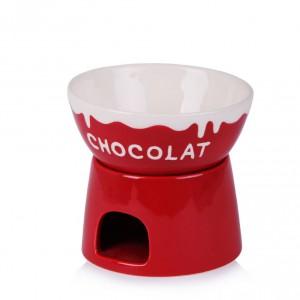 Walentynkowy zestaw do fondue. Idealny do roztopienia słodkiej czekolady. Fot. Home&you